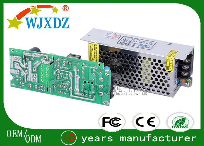 12V 10A Ultra Slim LED Strip Power Supply for Industry , Pure Copper Transformer