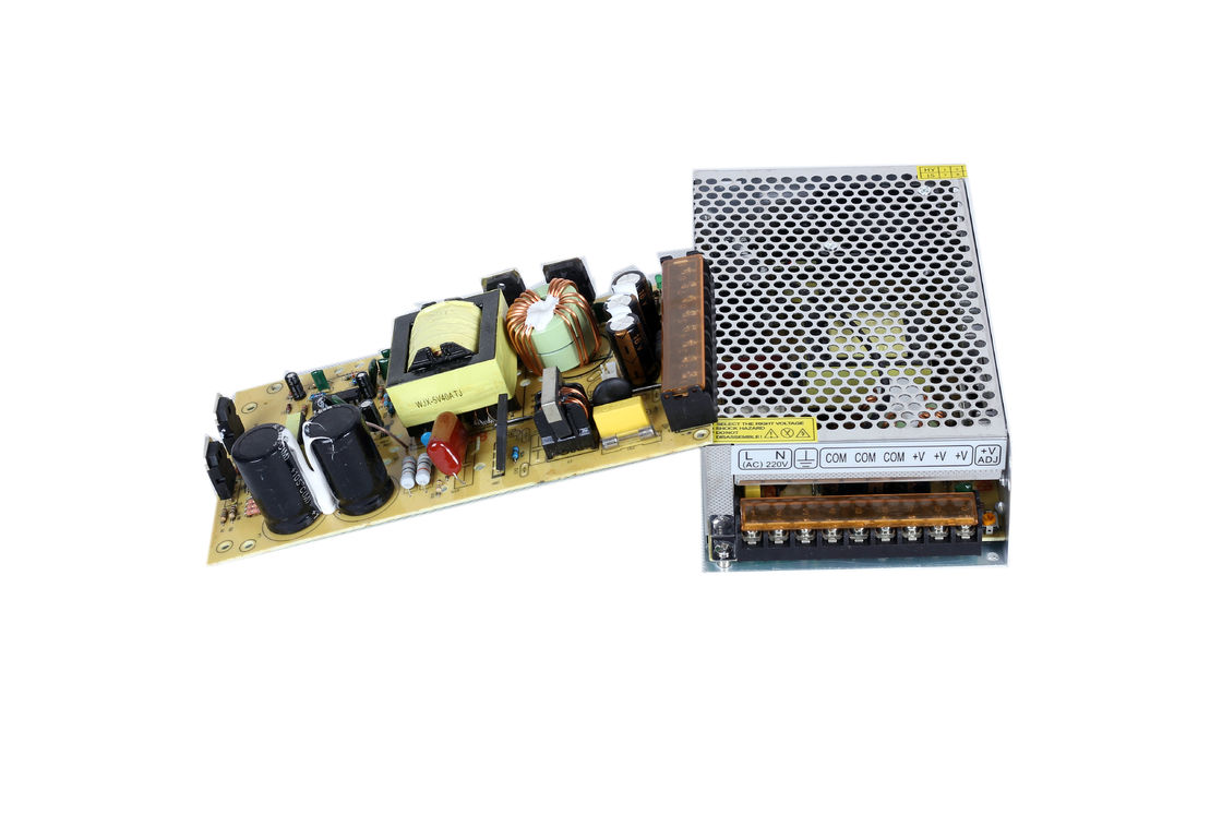 IP20 40A 5V Industrial Power Supply Suitable LED Display , CE / ROHS Certified